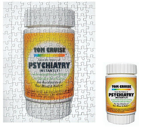 Tom Cruise Psychiatry Pills Puzzle